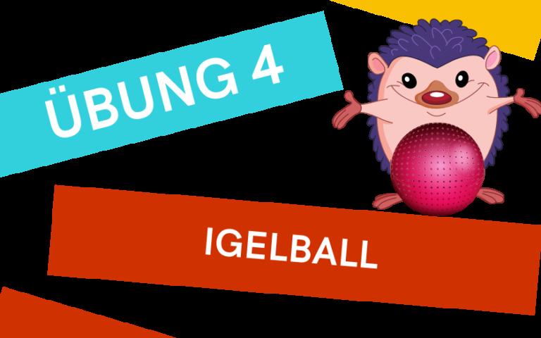 Fussübungen mit Igelball