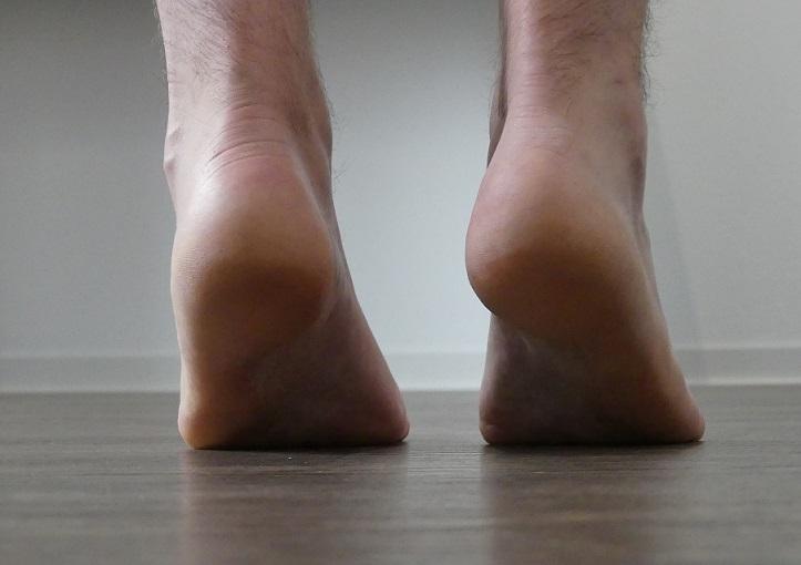 Fußgymnastik gegen kalte Füße