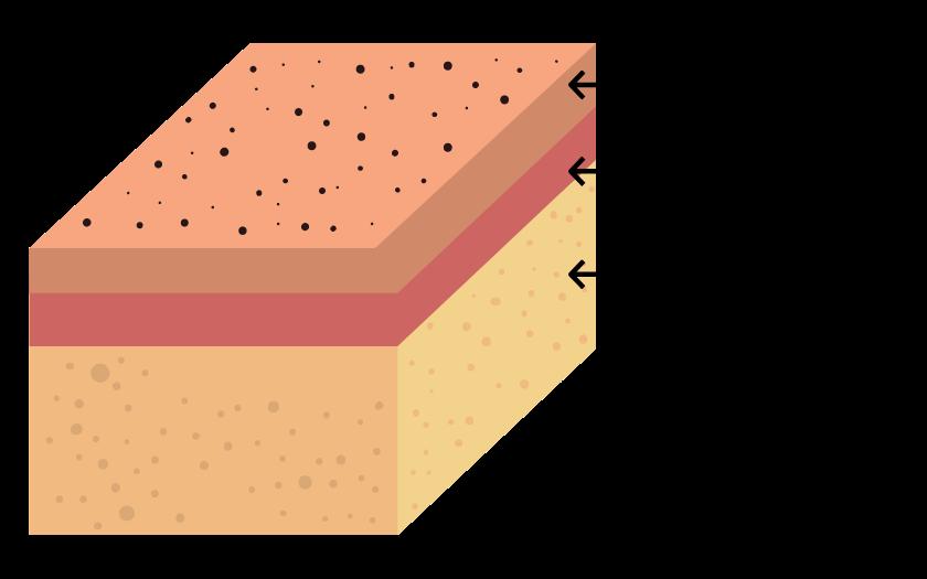 Hautschichten Fusspflege Podologie