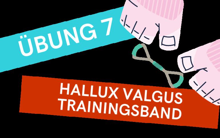 Trainingsband gegen Hallux Valgus