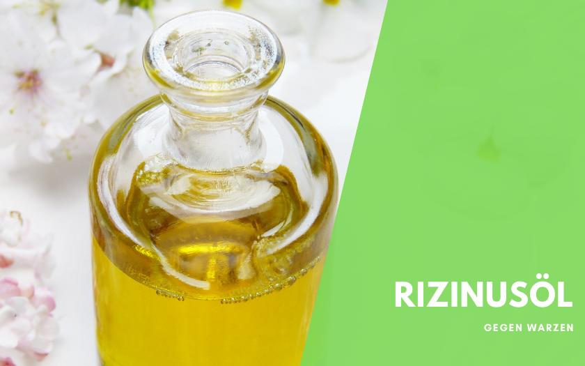 Rizinusöl zur Behandlung von Warzen
