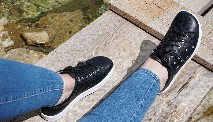 Schuhe mit Zehenfreiheit