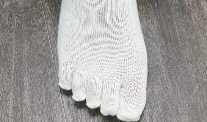 Zehensocken bei Fußpilz